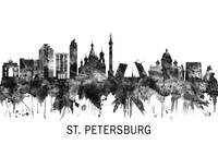 St. Petersburg Skyline