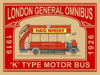 The London General Omnibus K-type Bus