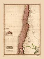 Map of Chile (1818)