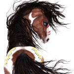 Pinto Spirit Horse 126 Prints & Posters