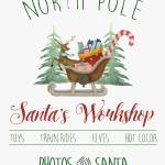 North Pole, Santa's Workshop Prints & Posters