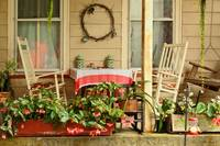 Porch - Belvidere NJ - A table for two