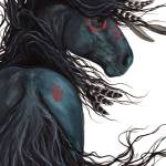 Majestic Black Horse Prints & Posters