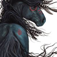 Majestic Black Horse Art Prints & Posters by AmyLyn Bihrle