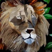"""""""Lion"""" by Kimmary"""