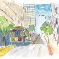 """""""San Francisco Cable Car View"""" by arthop77"""
