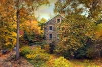 Autumn Stone Mill