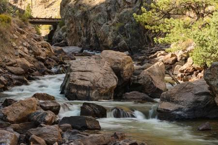 Bridge Over Cache la Poudre River