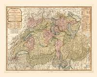 Map of Switzerland (1794)
