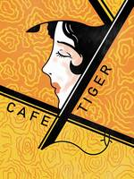 Cafe Tiger Vintage Japanese Matchbox Design