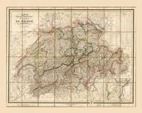 Map of Switzerland (1855)