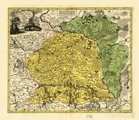 Map of Lithuania (1778)