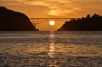 Deception Pass Sunset 1