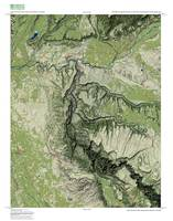 Gunnison Gorge 1:50,000 of nine USGS quadrangles