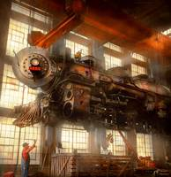 Locomotive - Repair - Flying trains hidden dangers