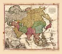Map of Asia (1743)