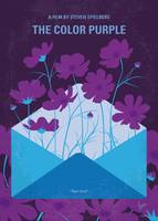 No1109 My The Color Purple minimal movie poster