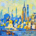 Liberty - New York City Harbor by RD Riccoboni