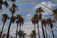 Umbracle gardens in Valencia