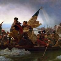 Washington Crossing the Delaware by Emanuel Leutze Art Prints & Posters by Vintage Posters