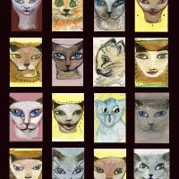 CATS book special Art Prints & Posters by Norahs Nepas