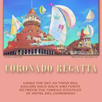 """Coronado Regatta Poster"" by MichaelIves"