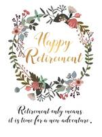 Happy Retirement Gift Idea Office Leaving Gift
