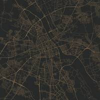 Traffic Warsaw Gold City Map