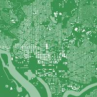 Washingtondc Green City Map