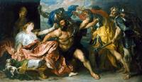 Samson and Delilah by Anthony van Dyck (1630)