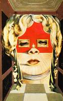 Salvador Dali Mae West Face Painting