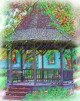 The Victorian Gazebo Sketched