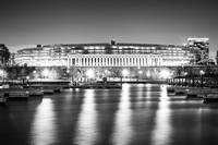 Soldier Field in Black and White