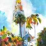 Alcazar Garden Balboa Park San Diego California by RD Riccoboni