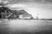 Catalina Island Casino in Black and White