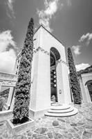 Catalina Wrigley Memorial in Black and White