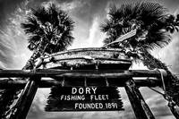 Newport Beach Dory Fishing Fleet Sign