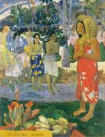 Hail Mary by Paul Gauguin