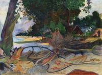 The Hibiscus Tree by Paul Gauguin