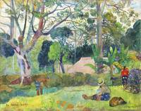 The Big Tree by Paul Gauguin