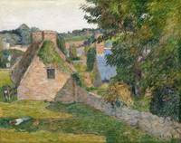 The Field of Derout-Lollichon by Paul Gauguin