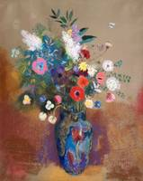 Bouquet of Flowers by Odilon Redon