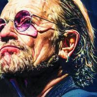 Bono Violet Glasses Art Prints & Posters by Kelly Eddington