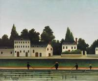 Landscape and Four Fisherman by Henri Rousseau