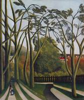The Banks of the Bièvre near Bicêtre by Rousseau