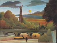 Seine and Eiffel Tower in the Sunset by Rousseau