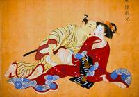 Japan Print Erotic Painting shunga Painting