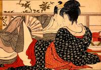 Erotic painting - Japanese Shunga Art