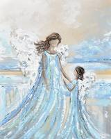 Together with You Always - Angel Painting