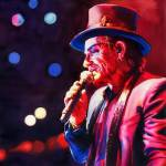 Red Top Hat Bono Prints & Posters